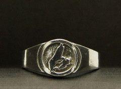 R-450A Cape Breton Ring - Silver