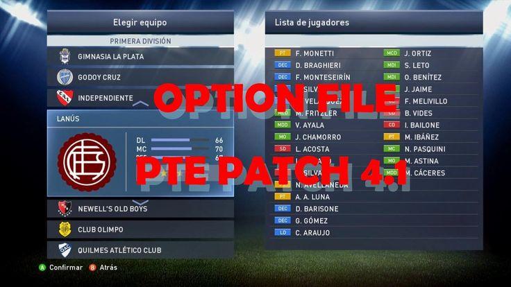 JUEGOS Y PROGRAMAS PC: Option File para pes2015 (PTE Patch 4.1)