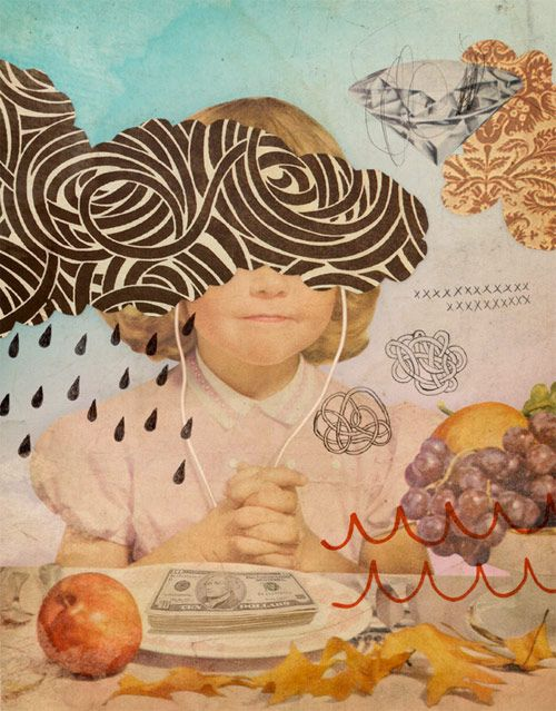 Eduardo Recife Misprinted Type drawing illustrator illustration collage