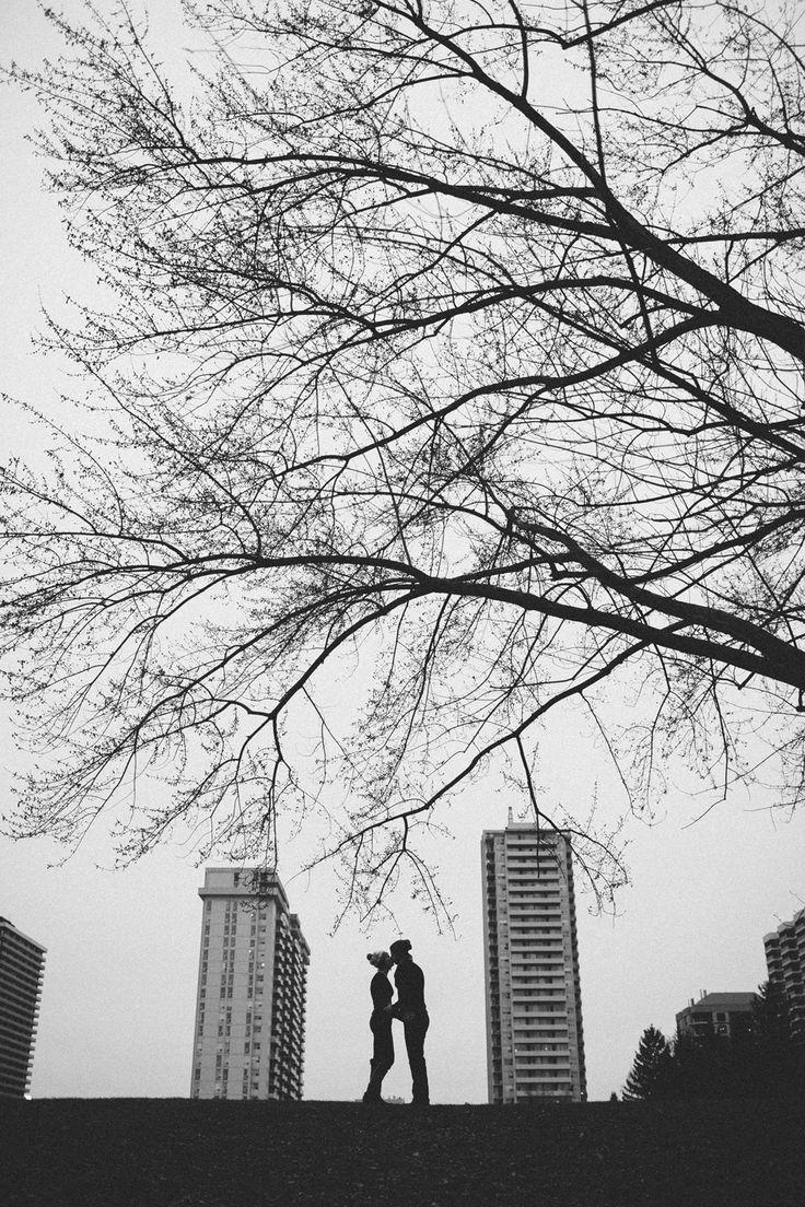 Silhouette Couples Toronto portrait photographer Paul Krol