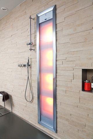 Sunshower in de douche