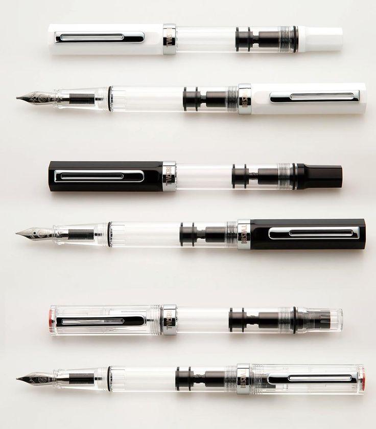 twsbiStandard color TWSBI ECO fountain pen, black, white, clear... #twsbi #twsbiart #fountainpens #fountainpen #ECO #twsbieco