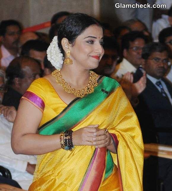 Vidya Balan in Sari 2014