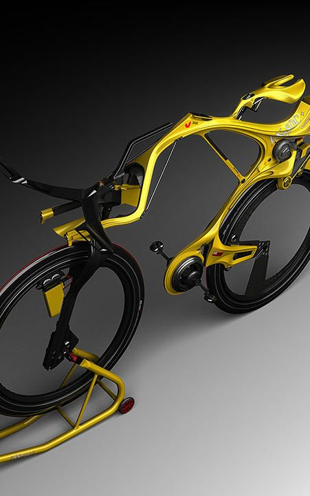 This Crazy Electric Bicycle Looks Like Something A Superhero Would Ride