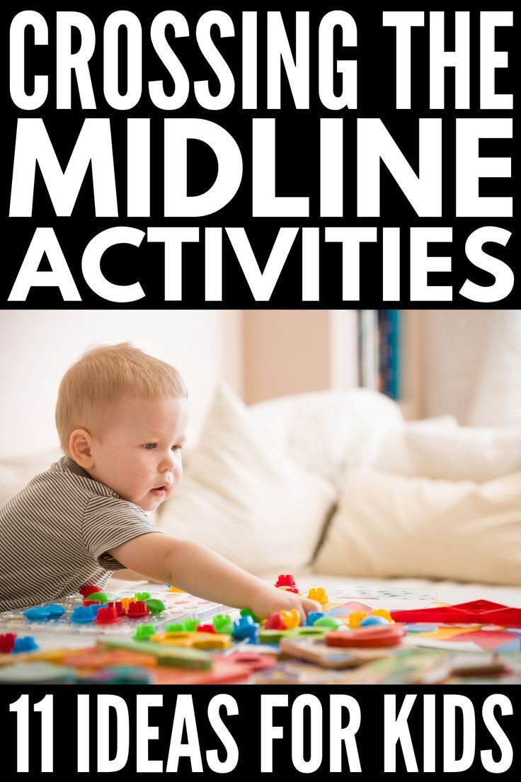 Ot At Home 11 Crossing The Midline Exercises For Kids Child