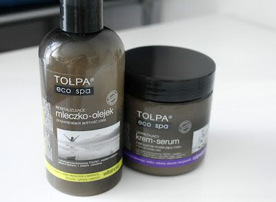 firma kokarda make up studio: Tołpa Rewitalizujące Mleczko - Olejek do Ciała Orzeźwienie, Tołpa Modelujący Krem - Serum do Ciała Odprężenie/Recenzje.