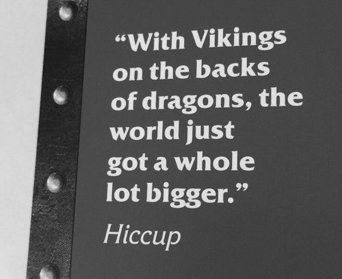 How to train your dragon quote