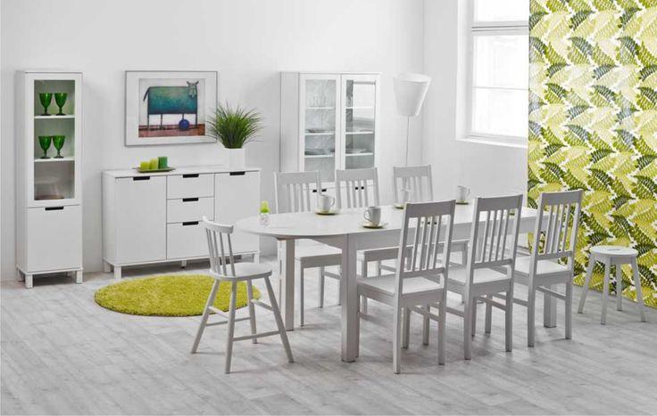 Laulumaa Huonekalut - Ruokailuhuoneet / keittiö - Laulumaa Emilia® - valkoinen