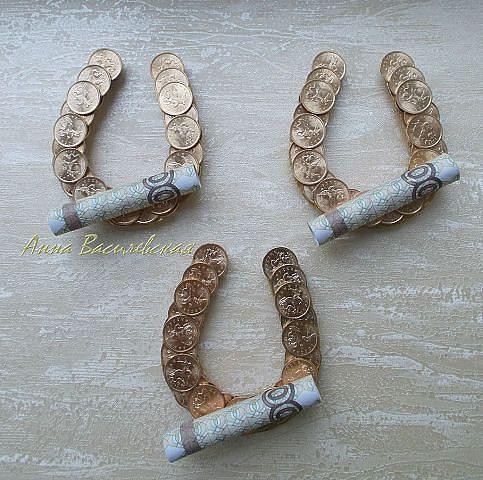 #Geldgeschenk Hufeisen / Viel Glück zum Geburtstag