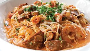 For some pure New Orleans flavors, try out this Pasta Vieux Carre recipe from Superior Seafood.