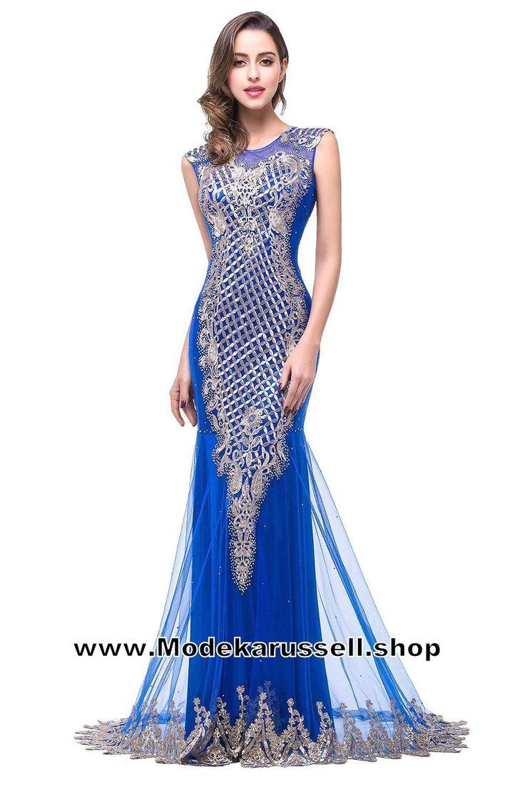 Gala Abendkleid 2017 Online Dunkelblau Arabella