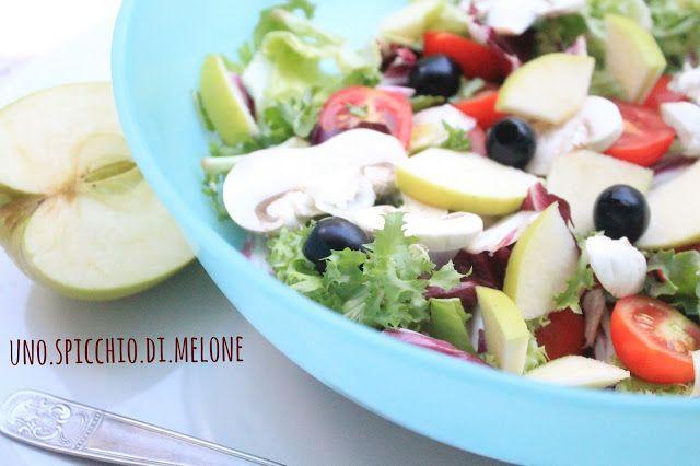 uno.spicchio.di.melone: INSALATA d'AUTUNNO – Con champignon, mela e radicc...