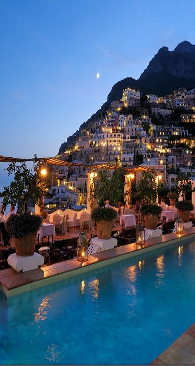 i could drink wine here ----- Positano, Italy