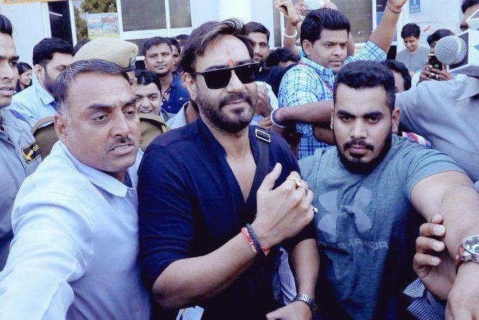 AJ in jodhpur for baadshaho shooting