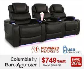 Barcalounger Columbia Theater Seats
