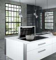 Hotte de cuisine tiroir / avec éclairage intégré