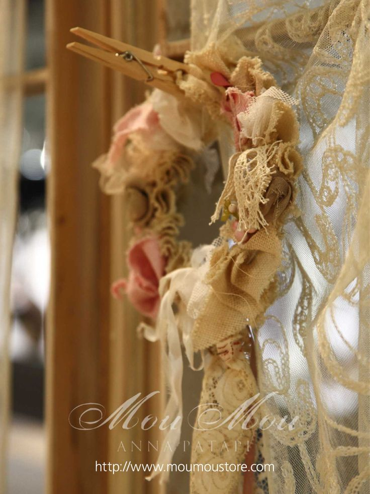 """Handmade accessories for christening candles  """"COLLECTION MOUMOU by Anna Patapi"""""""