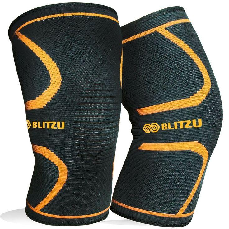 Blitzu Flex Plus Compression Knee Brace For Joint Pain, Meniscus Tear, Acl, Mcl  #Blitzu