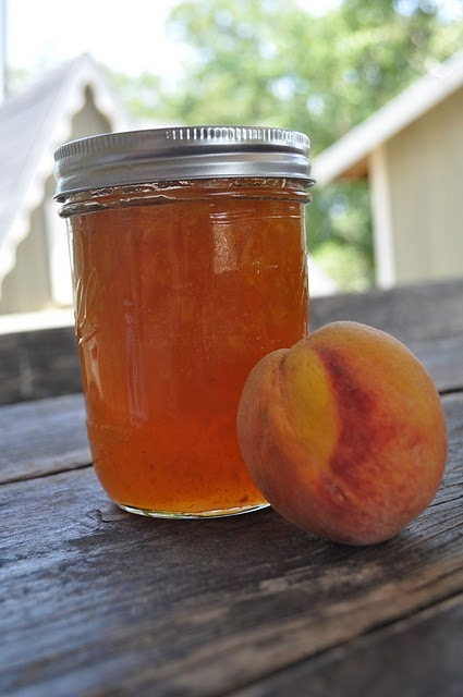 homemade peach jelly