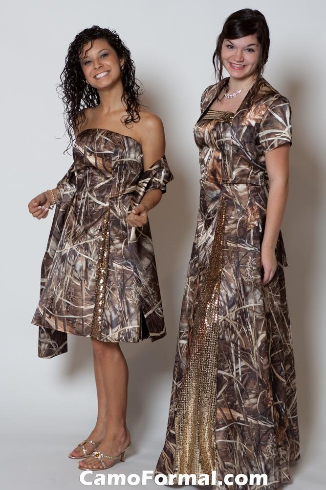 camouflage prom dresses. where be Brad Paisley in his matching tux?