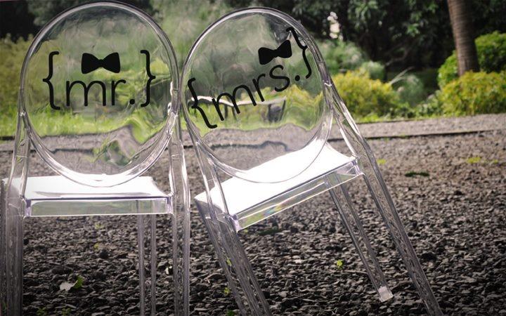 Wedding Gift Ideas Manila : Chair Decal #MeshDecorativeDecals #Mesh #Decals #Manila #weddings ...