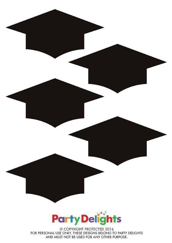 Kostenlose druckbare Graduation Bunting