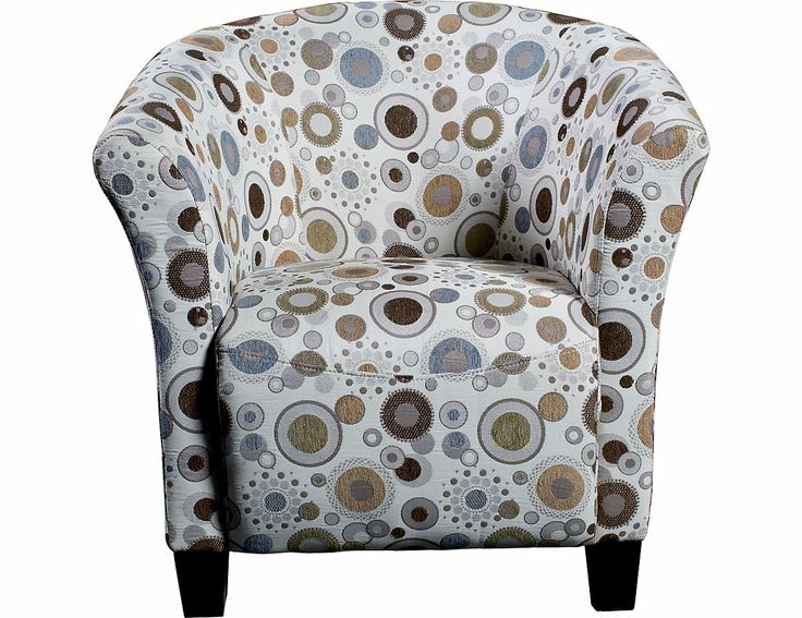 Sundial Accent Fabric Tub Chair
