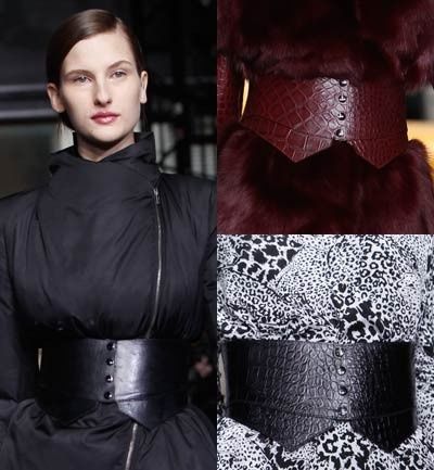 DKNY Fajones anchos resaltando la cintura. Los veremos mucho