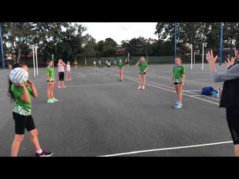 Netball Drill - YouTube