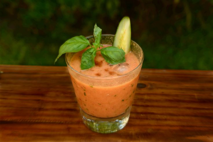 Spanish Gazpacho + Bloody Mary. 2 recipes in 1!