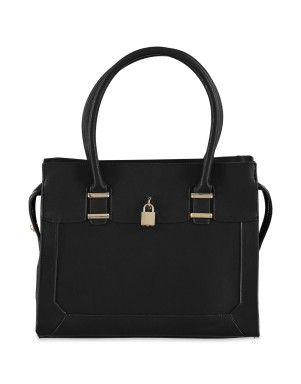 Lock Trim Tote Bag | Woolworths.co.za