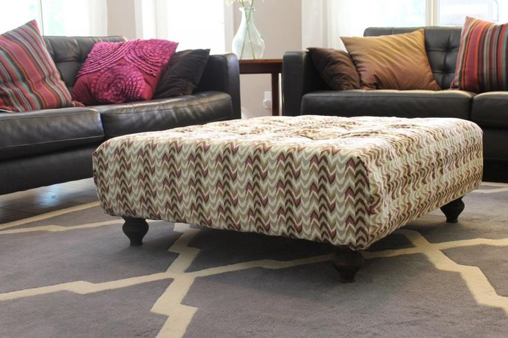 28 best DIY ottoman images on Pinterest | Diy ottoman, Furniture and ...