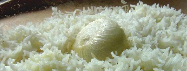 Rýže pečená v troubě jako příloha