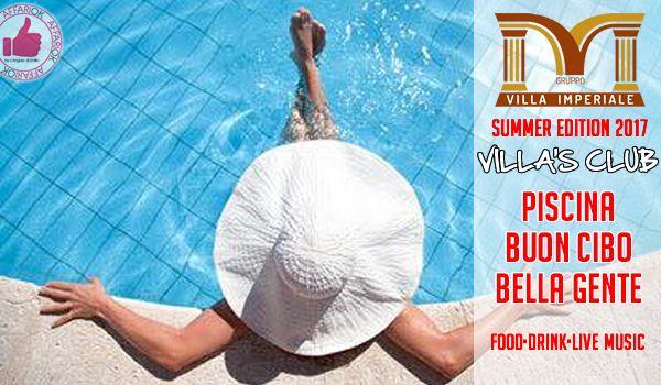 Villa Imperiale Villa's Club | PISCINA | BUON CIBO | BELLA GENTE http://affariok.blogspot.it/