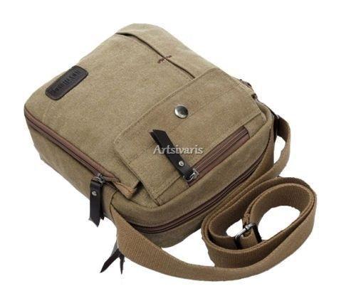 Stylish-Mens-Vintage-Canvas-Messenger-Bag-Travel-Hiking-Casual-Gadget-Satchel