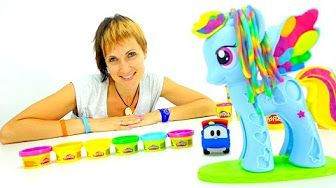 Маша и мультфильм Катя и Мим Мим. 3D мультики для детей и видео про игрушки - YouTube