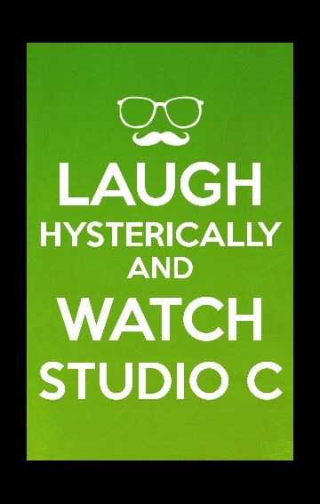 I am grateful for studio C because at moments when I was having a bad day I could watch studio C and Laugh and I love to laugh!!!  #WhatAreYouGratefulFor #StudioC