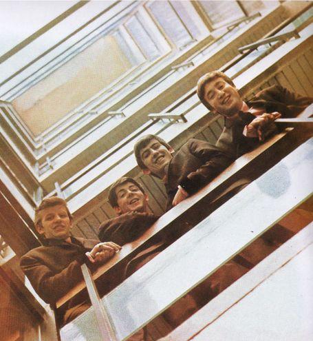 The Beatles by Angus McBean – Please Please Me album Cover