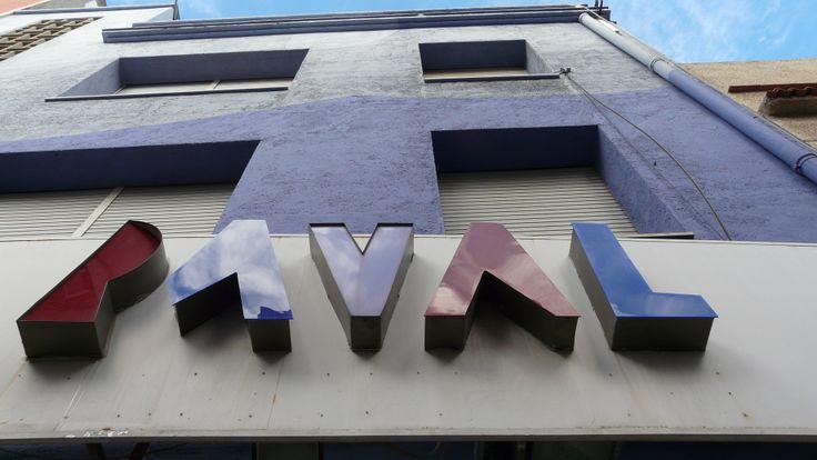 El teatre del Raval de Gandia en obres (de teatre)  Imatge de Lucho Lahoz #ReviuElRaval http://vkm.is/teatredelraval