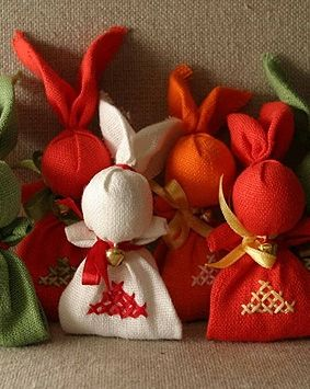 Dolls by Liza Arbuzova. Зайчик-на-пальчик