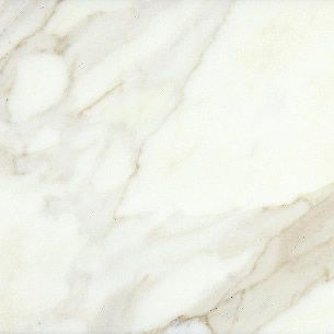 This finish of Calacatta Gold marble for kitchen countertops and backsplash - seamless or invisible seams