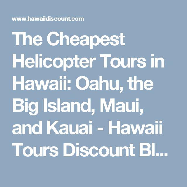 Cheapest Kauai Tour
