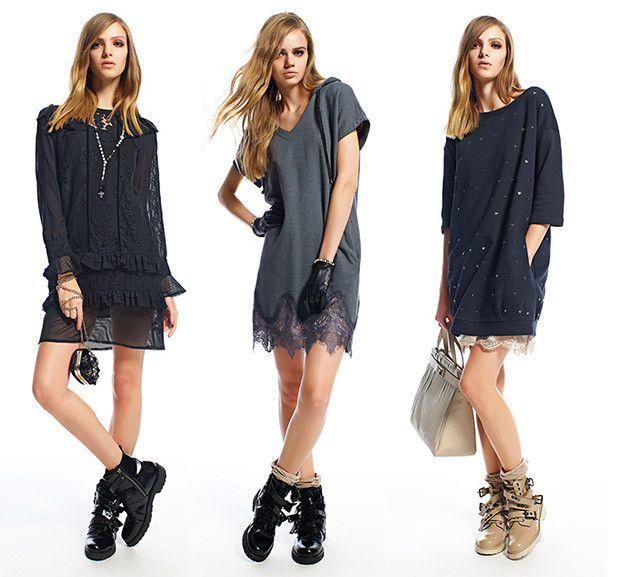 Twin Set vestito grigio