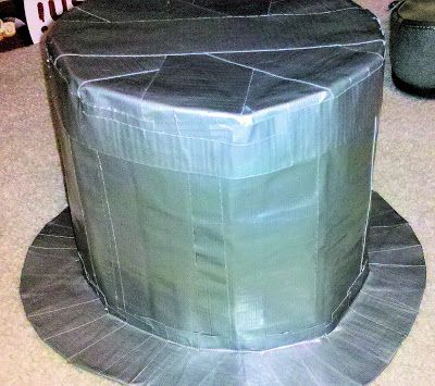 Let's Craft Something!: Duct Tape Top Hat Tutorial