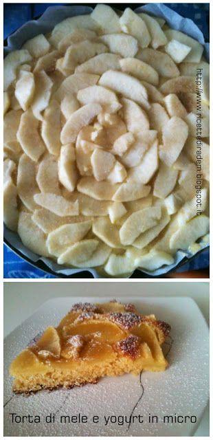 L'angolo delle delizie: Torta di mele e yogurt nel microonde