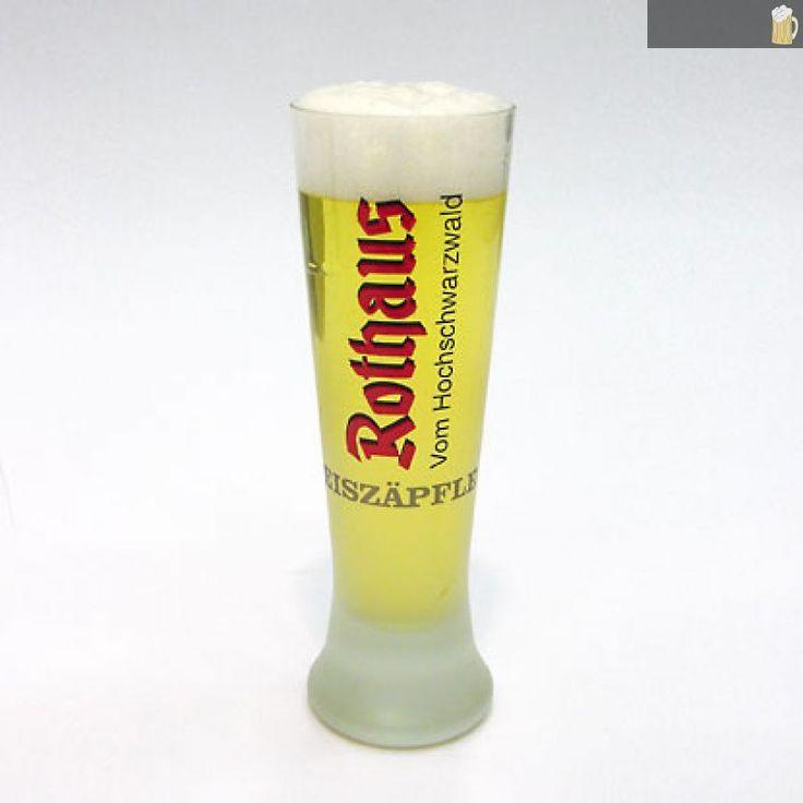 Rothaus Eiszäpfle Glas - auf Schwarzwald-Bier-Fanshop.de, dem Shop für Fanartikel der bad. Staatsbrauerei Rothaus AG, sowie der Waldhaus Brauerei., 17,00 €