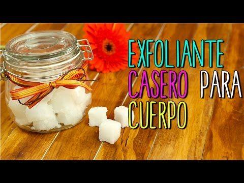 Exfoliante Casero para Cuerpo y Manos - En Cubitos - Exfoliante Natural - YouTube