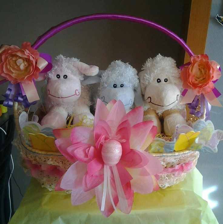 26 best gift baskets and more images on pinterest gift baskets hand decorated gift baskets filled with goodies negle Images