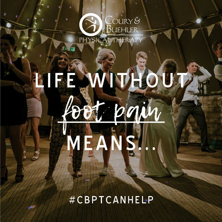 """""""…walking down the aisle and dancing the night away at my wedding!"""" ✨  Pain often hinders us from the things we dream of doing. For one our patients, she never thought she'd be able enjoy her wedding to the fullest because her foot pain was so intense. After coming to CBPT and going through her treatments, our patient was able to have the wedding of her dreams-- completely pain-free. 💍  What does a life without pain mean to you? Click our link and sign up for a free assessment to kickstart…"""