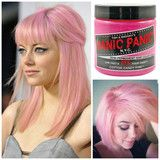 Manic Panic Glow In The Dark Semi Permanent Hair Color in Cotton Candy Pink - GoGetGlam  - 1